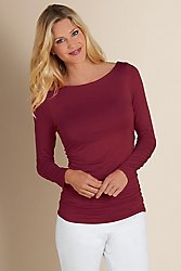 Complementary Ruched Top