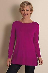 Womens Jersey Knit Sweater