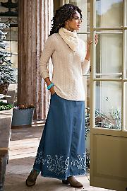 Talls_Denim_Applique_Skirt