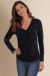 Velvet Shapely Stretch Top