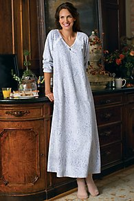 Womens Micro-Fleece Nightgown