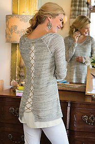 Shimmer Down Sweater