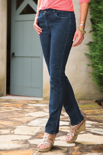 LOWER RISE JEANS
