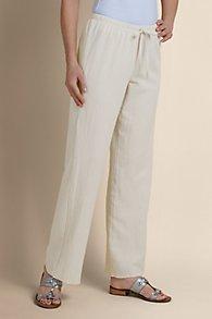 Pigment Washed Gauze Pants