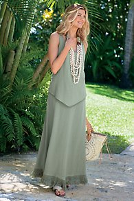 Grecian Gauze Dress I