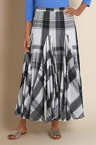 Plage de Plaid Skirt