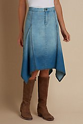 Deauville Denim Skirt