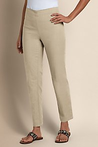 Stretch Linen Pants