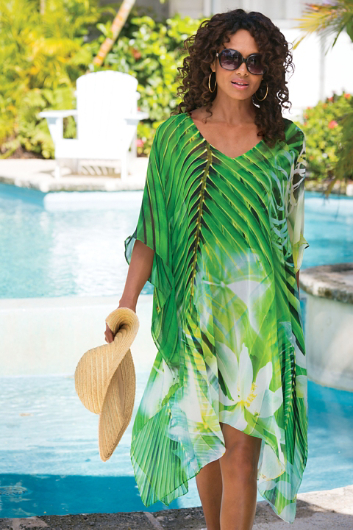 PETITES ROYAL PALMS TUNIC