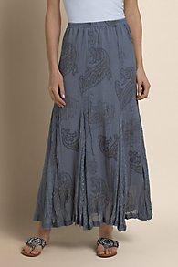 Paisley Printed Skirt