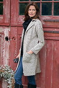 Scottish Sweater Coat