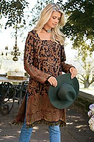 Autumn Paisley Tunic