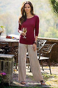 Tencel Terrace Pants