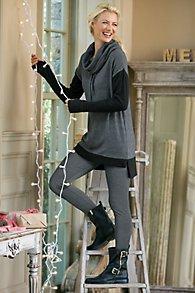 Herringbone Stretch Leggings