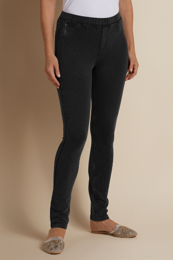 PETITES PIGMENT WASHED LEGGINGS