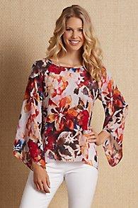 Silk Petunia Pullover