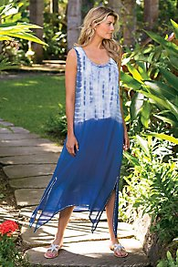 Women's Tie-Dye Dress