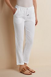 Off Duty Linen Pants