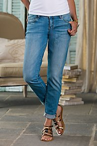 CJ Distressed Boyfriend Jeans