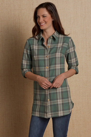 PAIGE PLAID SHIRT