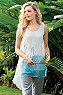 Petites Color Wash Silk Tank Photo