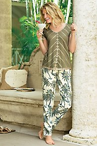 Tropical Tencel Pants