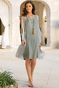 Silk Tribeca Dress