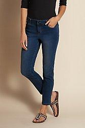 Essential Tencel Capri Jeans