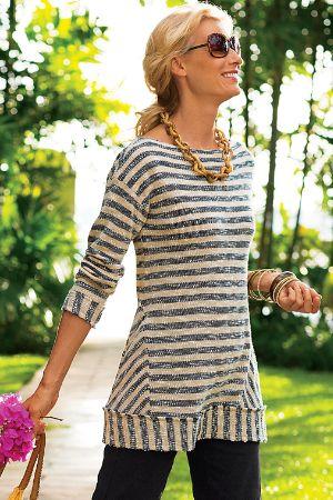 Marina Pullover - Nautical Sweater, Striped Sweater | Soft ...