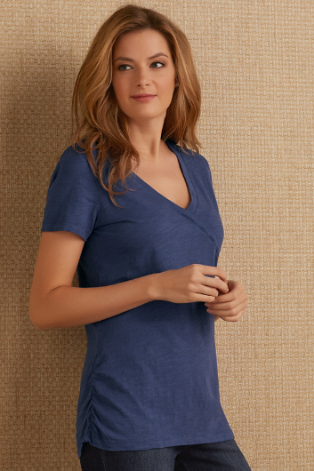 ROCHELLE RUCHED TEE