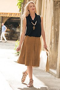 Simply Suede Skirt