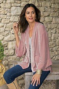 Vintage Silk velvet Kimono