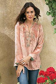Moroccan Velvet Tunic