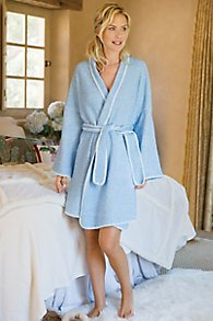 Women Blanket Stitch Robe