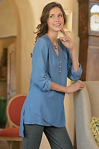 Topnotch Tencel Tunic