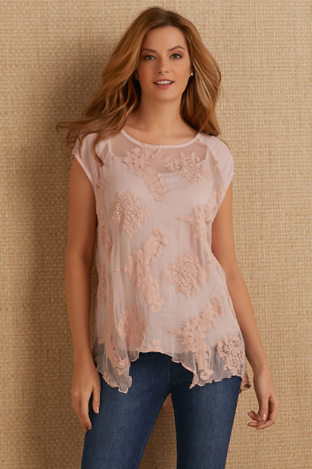 EAMMON EMBROIDERED TUNIC