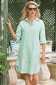 Seaside Shirtdress