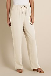 Silk Drawstring Pants