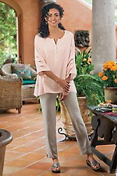 Tencel Ankle Pants
