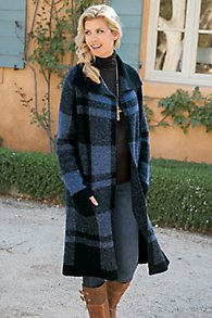 Posh_Plaid_Sweater_Coat