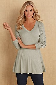 Perfect A Line Long Sleeve Top