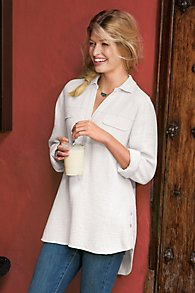 Just Be-Gauze Top