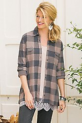 Super Soft Plaid Shirt