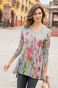 Poppy Fields Tunic