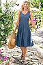 Take A Twirl Tencel® Dress Photo