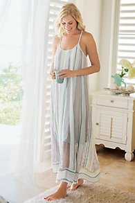 Destin Striped Gown