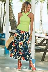 Tropical Forest Skirt
