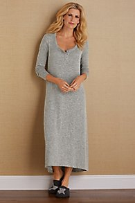 Heavenly Henley Gown
