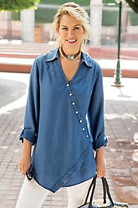 Washed Tencel Tunic