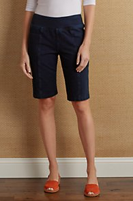 Slimsations_Denim_Knit_Shorts